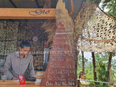 menu cafe doi gio