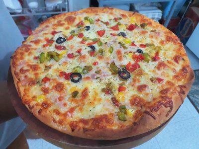 Quán có bán pizza chay cho ai ngán thịt