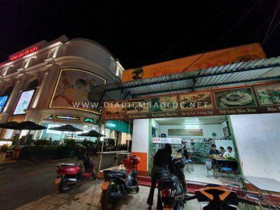 Quán nằm ngay bên cạnh Vincom Bảo Lộc